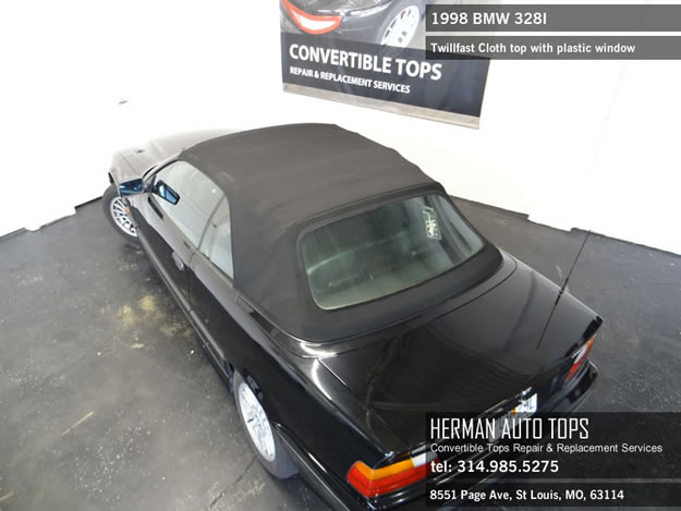 1998 bmw 328i convertible top not working