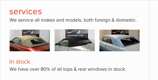 Herman Auto Tops | Convertible tops repair & replacement - St Louis